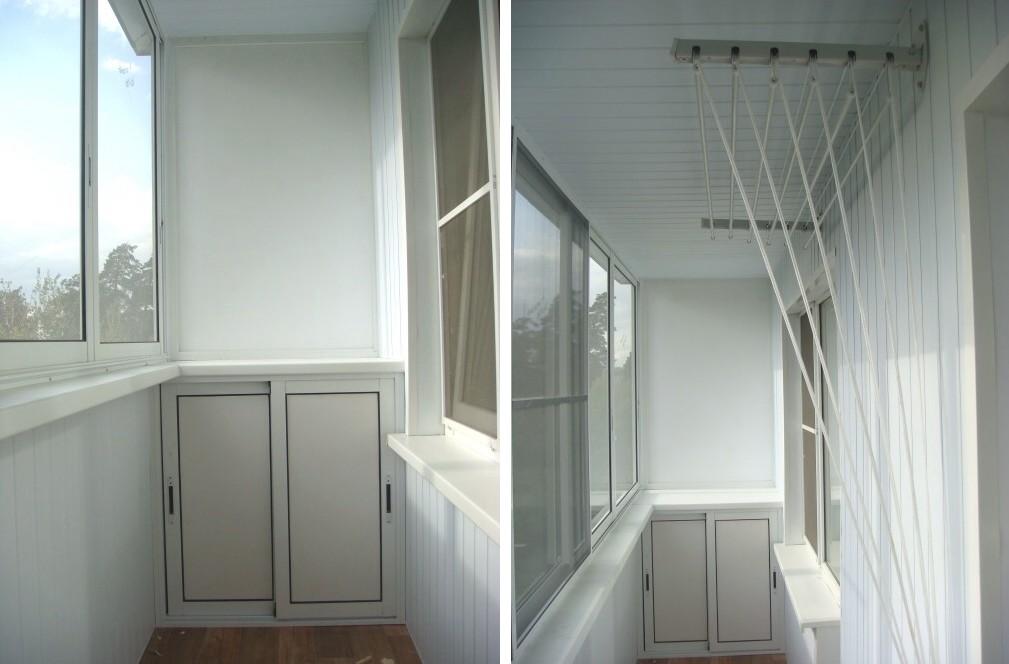 Примеры остекления маленьких балконов фото.